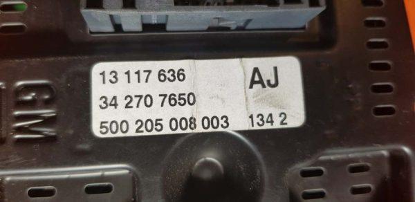 Opel Vectra C multifunkciós központi kijelző