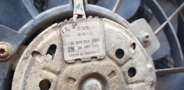 Opel Astra H, Zafira B vízhűtő ventilátor