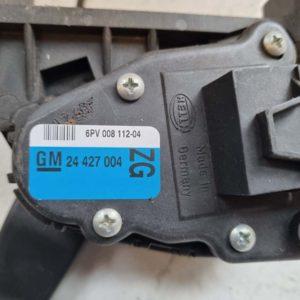 Opel Astra H elektromos gázpedál
