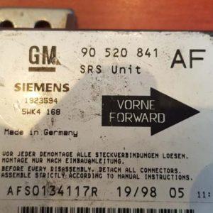 Opel Astra G légzsákindító