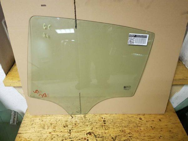 Opel Corsa D bal hátsó ajtóüveg